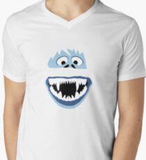 Simple Bumble Face Men's V-Neck T-Shirt
