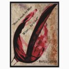 Wine Quote - Martin Luther by CorxandForx