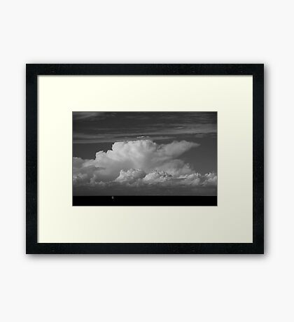 It's A Big Ocean Out There Framed Print