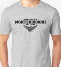 Universita di Monteriggioni (Black) Unisex T-Shirt