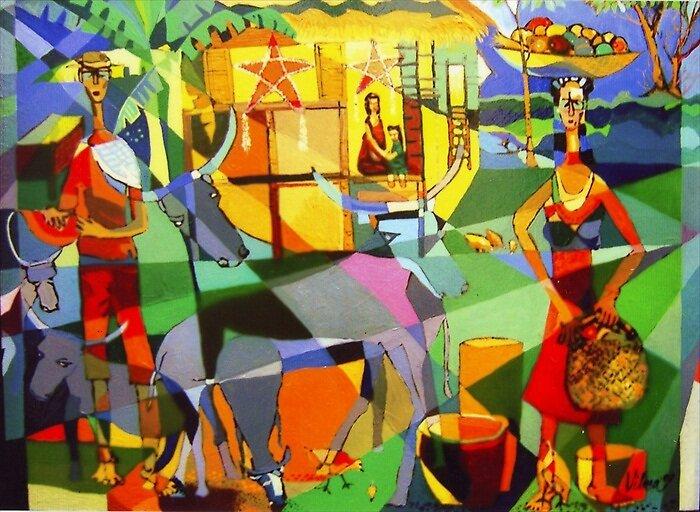 Barrio Fiesta by Mario Villareal