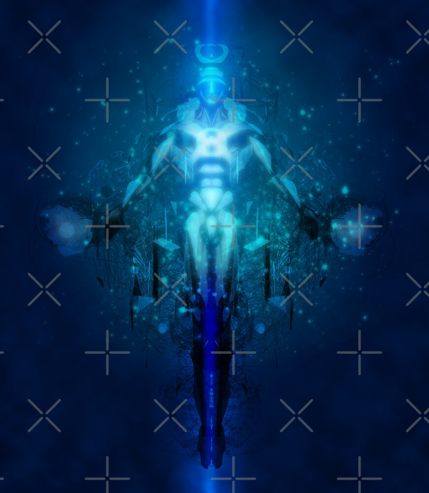 Transhuman Ascension by Simon Sherry