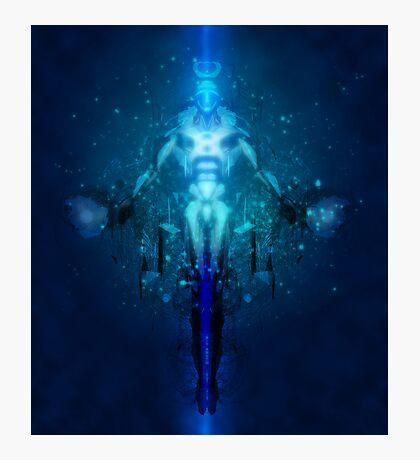 Transhuman Ascension Photographic Print