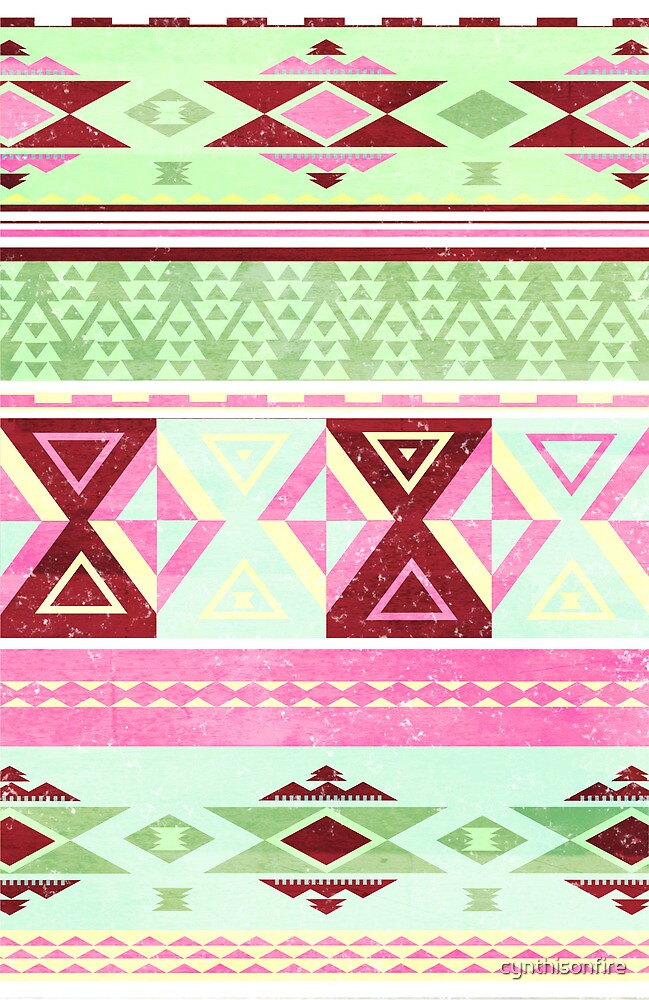 Neon Aztec by cynthisonfire