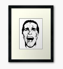 Patrick Bateman Framed Print