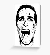 Patrick Bateman Greeting Card