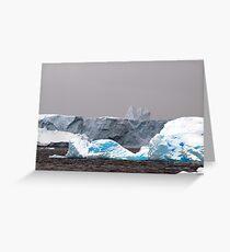 Icebergs,  Antarctica Greeting Card
