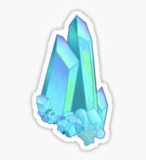 Blue Aura Quartz Sticker