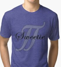 Sweetie Pi Tri-blend T-Shirt
