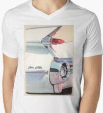 1959 Cadillac Sedan de Ville Mens V-Neck T-Shirt