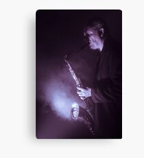 Your Sax is on Fire Canvas Print