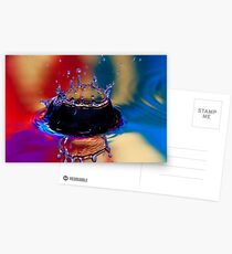 Colouful Coronet Postcards
