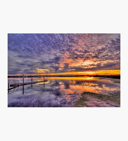 Barwon Heads Sunset HDR 2 Photographic Print