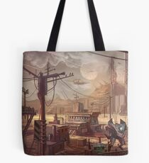 Mecha Wastes Tote Bag