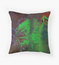 Cosmic Waterbird Throw Pillow