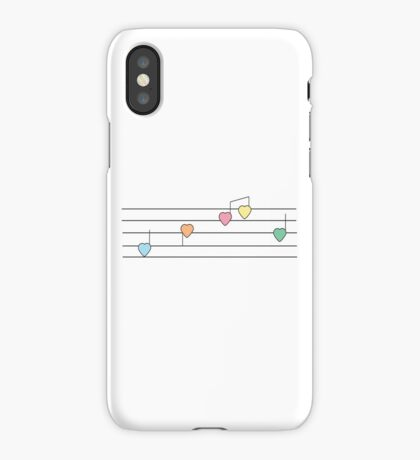 Musical Hearts iPhone Case/Skin