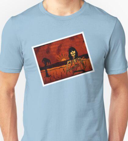 Ukulele Lady Postcard T-Shirt