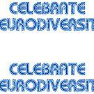 Celebrate Neurodiversity Sticker by Leif Prime