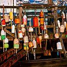 Lobster Trap Markers by Debra Fedchin