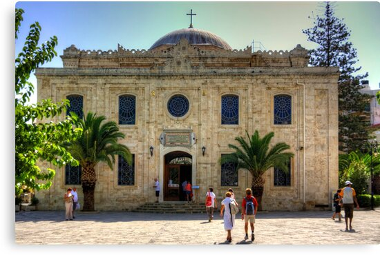 Chiesa di Agios Titos by Tom Gomez
