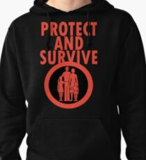 Protect And Survive Boy Pullover Hoodie
