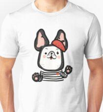 French Bulldog Mime Unisex T-Shirt