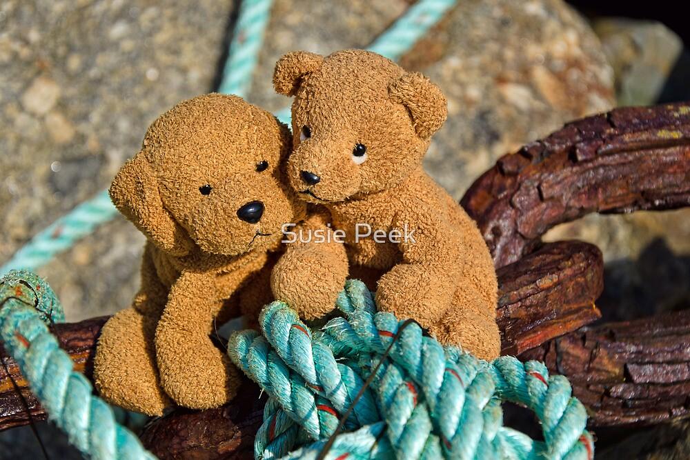 Tangled Up in Blue by Susie Peek