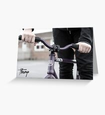 Thump (fixie) Greeting Card