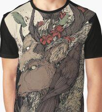 Der Elchkönig Grafik T-Shirt