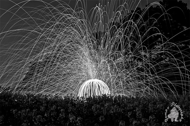 Sphere and Sparks by yampy