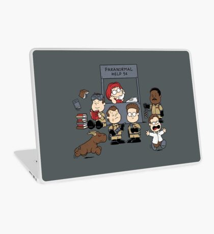 The Busters Are In! Laptop Skin