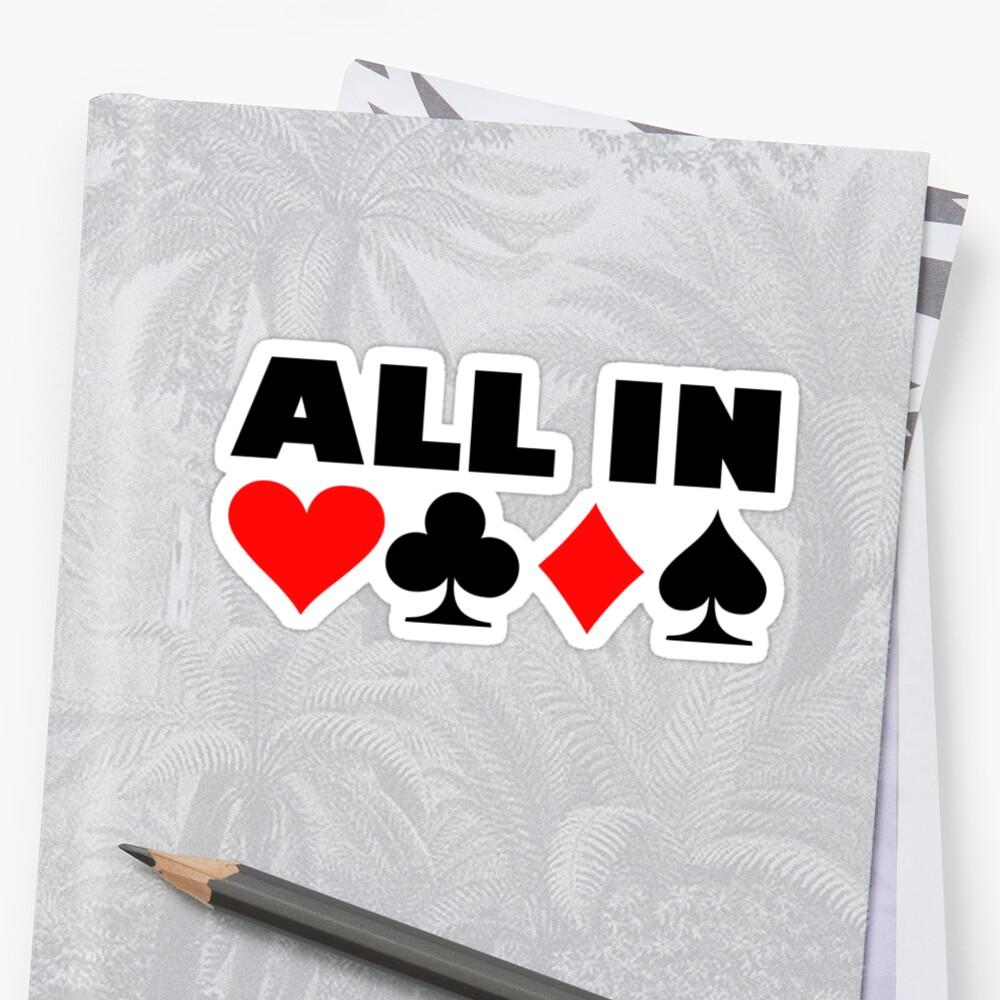 All in poker by Designzz
