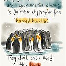 The truth about Penguins.  by twisteddoodles