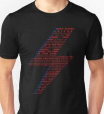 Ziggy played guitar... Unisex T-Shirt