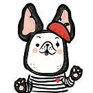 French Bulldog Mime by fluffymafi