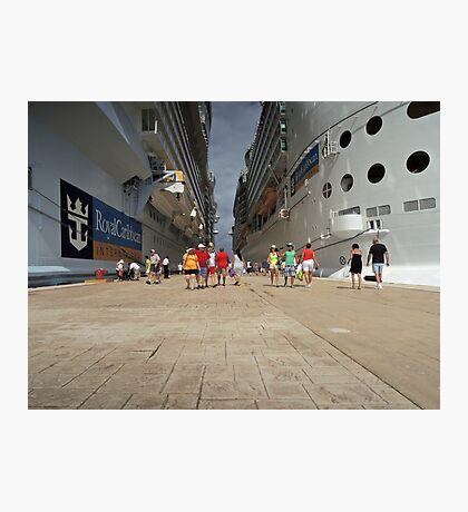 All Ashore That's Going Ashore! Photographic Print