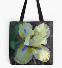 Playful Iris Tote Bag