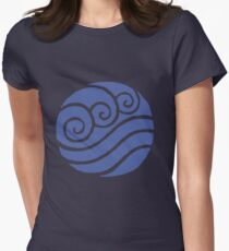 Waterbending Women's Fitted T-Shirt