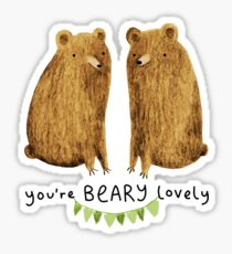 Beary Lovely Sticker