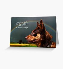 Sympathy Card For Loss Of Pet Dog Greeting Card