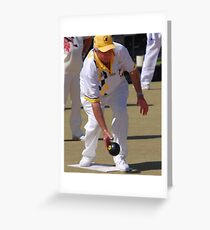 M.B.A. Bowler no. d084 Greeting Card