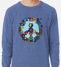 Peace Sign Lightweight Sweatshirt