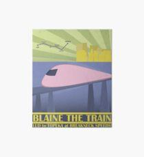 Travel Blaine Rail Art Board