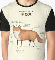 Anatomy of a Fox Graphic T-Shirt