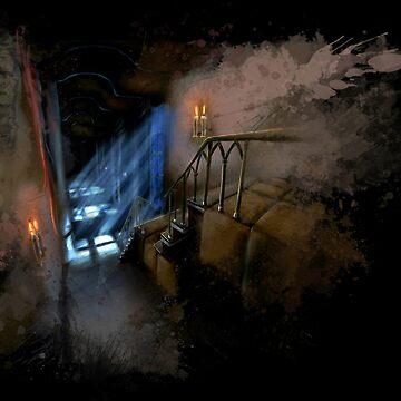 Castlevania: Vampire Variations- Hall by LightningArts