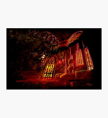 Castlevania: Vampire Variations- Medusa Photographic Print