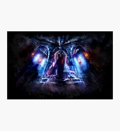 Castlevania: Vampire Variations- Dracula Photographic Print