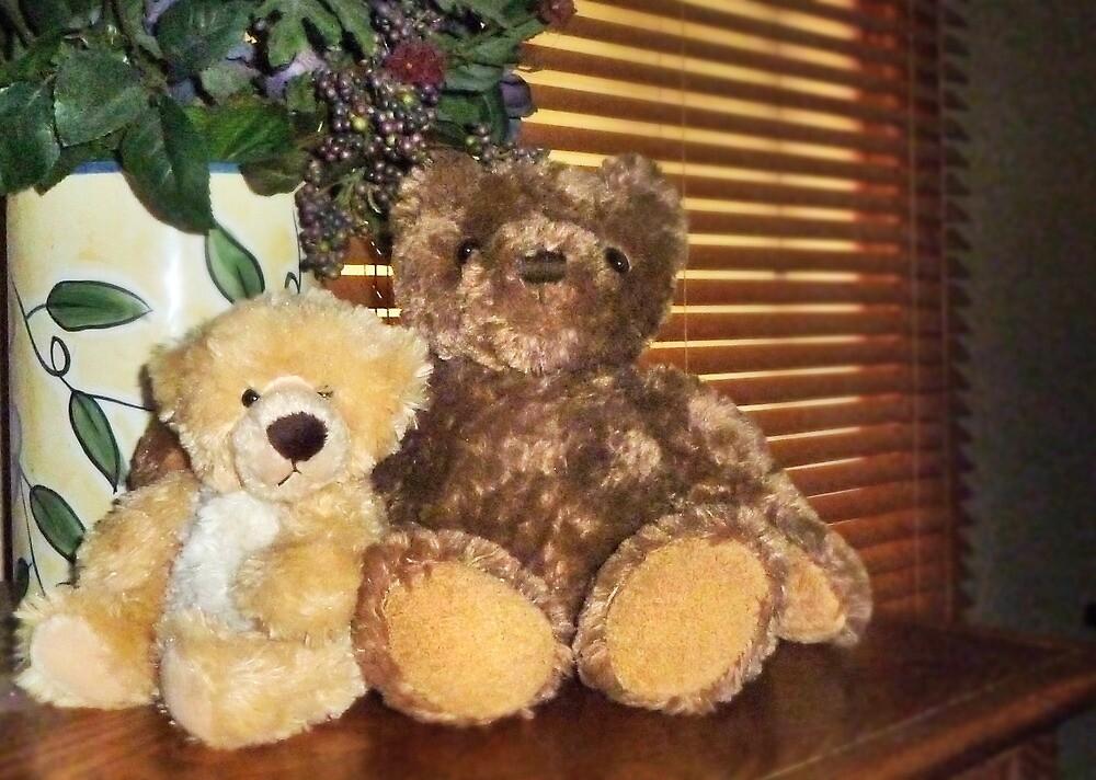 Two Teddies by Nadya Johnson