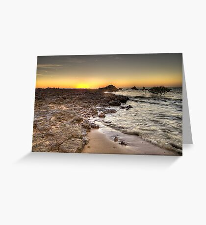 Sunrise - Point Samson Beach - WA Greeting Card