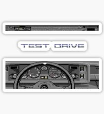 Test Drive - C64  Sticker